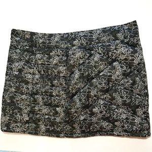 Smartwool snow skirt mini quilted black Medium